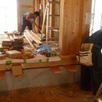 木の家 式台