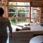 木の家 キッチン