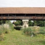 木橋 屋根
